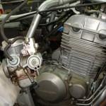 Retirado o carburador da moto