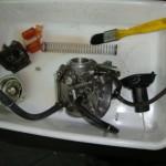 Desmontagem e limpeza do Carburador