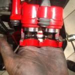 Citycom sistema de freio limpo