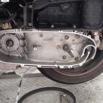 Carcaça motor lado esquerdo Citycom 300i